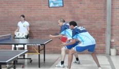 Funcionarios públicos se unen en torno al deporte