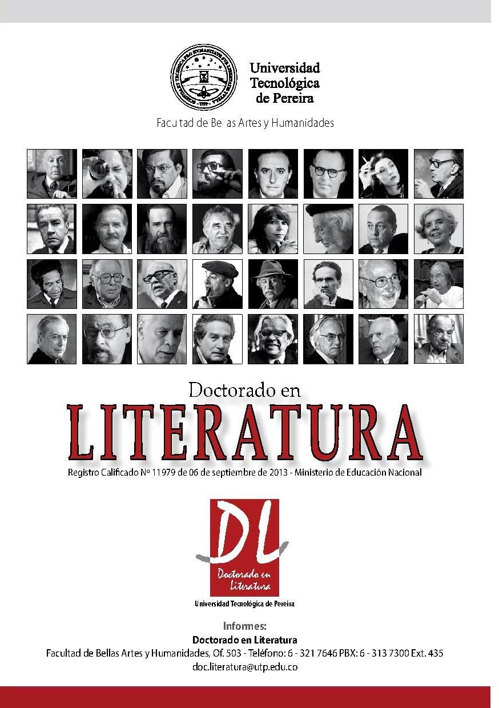 Doctorado en Literatura UTP